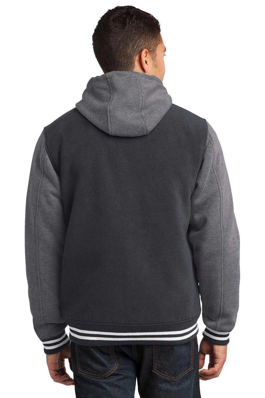 Sport-Tek Mens Insulated Letterman Jacket