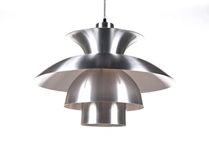 Kirch Lighting Horsens Pendant L& Silver  sc 1 st  Amazon.in & Buy Kirch Lighting Horsens Pendant Lamp Silver Online at Low Prices ...