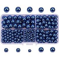 PandaHall Elite 400 Psc Perlas de Vidrio Granos