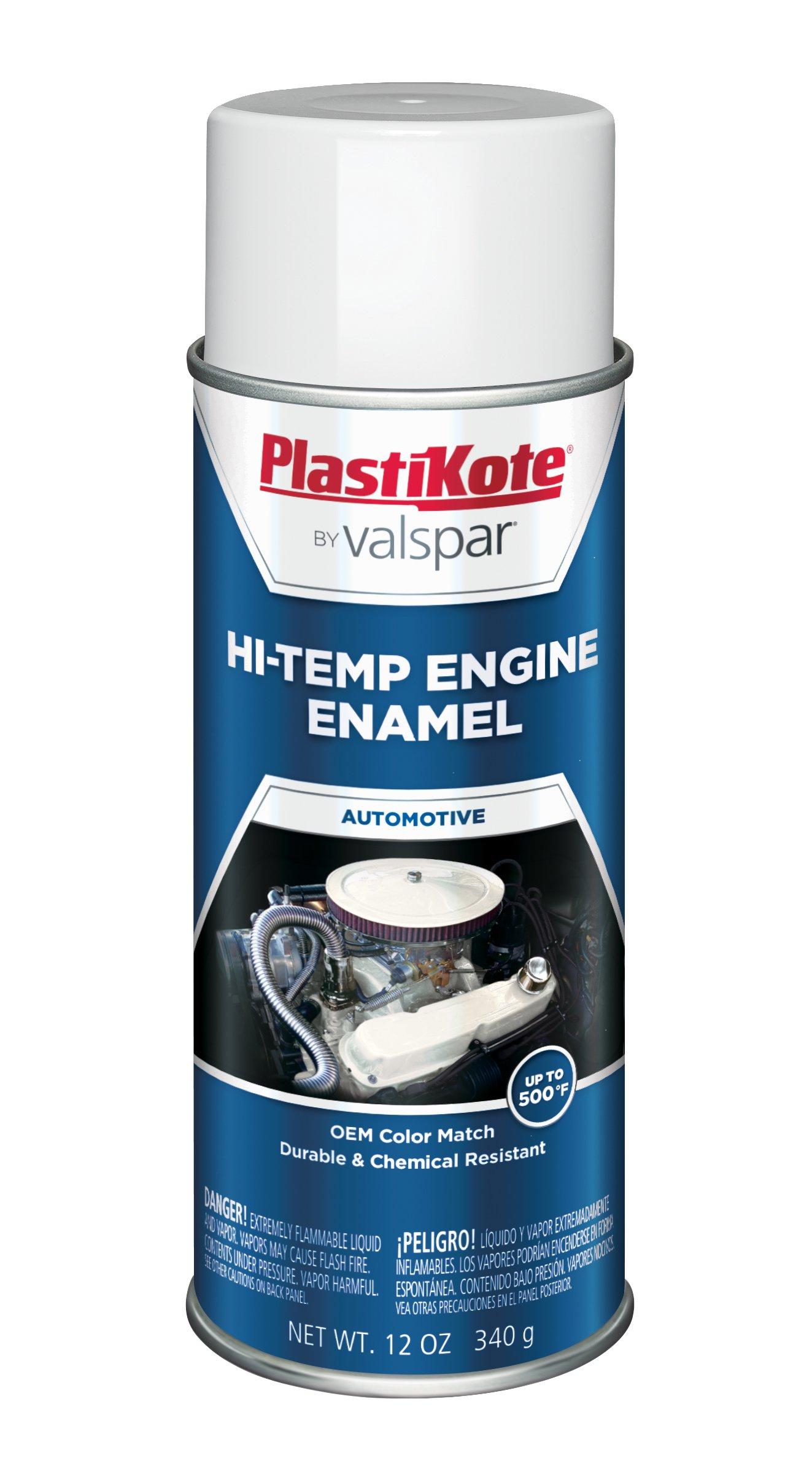 PlastiKote 211 Hot Rod White Engine Enamel, 12 oz. by PlastiKote