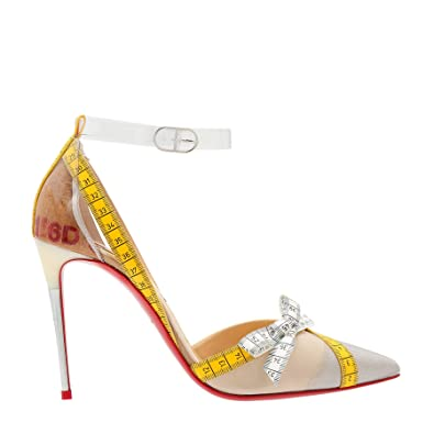 CHRISTIAN LOUBOUTIN DAMEN HIGH HEEL PUMPS SCHWARZBRAUN
