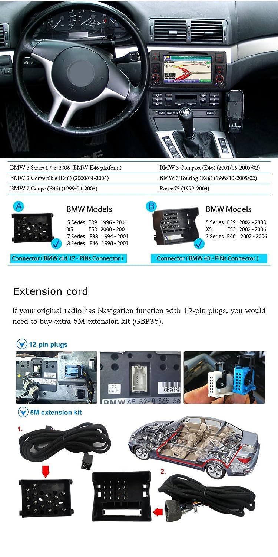 Iauch 7 pulgadas HD de pantalla táctil WinCE 6.0 coche estéreo con ...