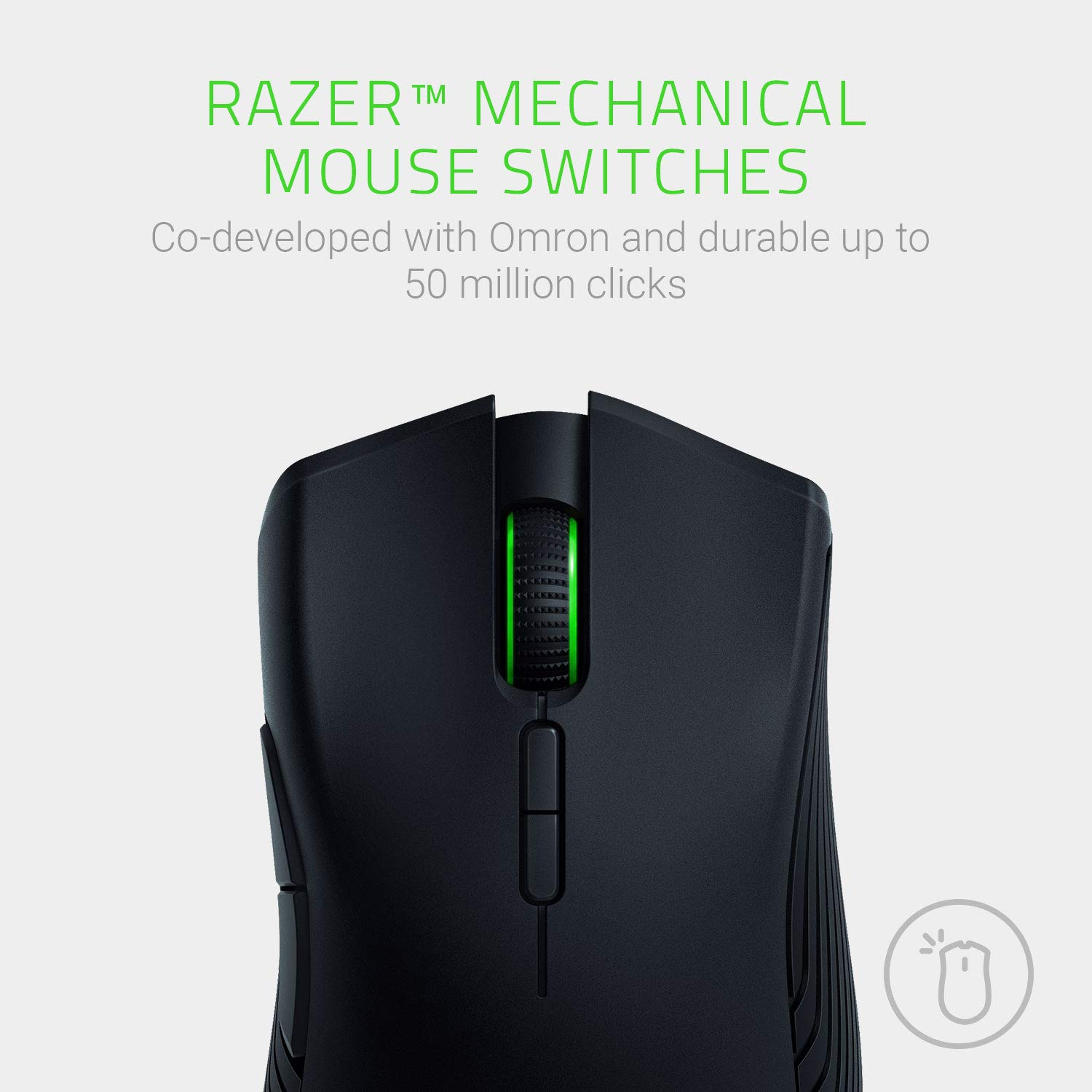 Razer Mamba Wireless Gaming Mouse: 16,000 DPI Optical Sensor - Chroma RGB Lighting - 7 Programmable Buttons - Mechanical Switches - Up to 50 Hr Battery Life by Razer (Image #4)