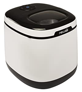 NewAir Portable Countertop Ice Maker Machine, Makes 50 lbs of Ice, White, AI-250W