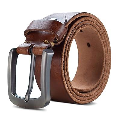 Lychee Cinturón Para Hombres, 100% Cuero Italiana, Traje Para ...