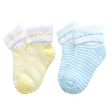 bebés unisex calcetines de toalla de invierno con capota de lona caliente de espesor térmica: Amazon.es: Ropa y accesorios