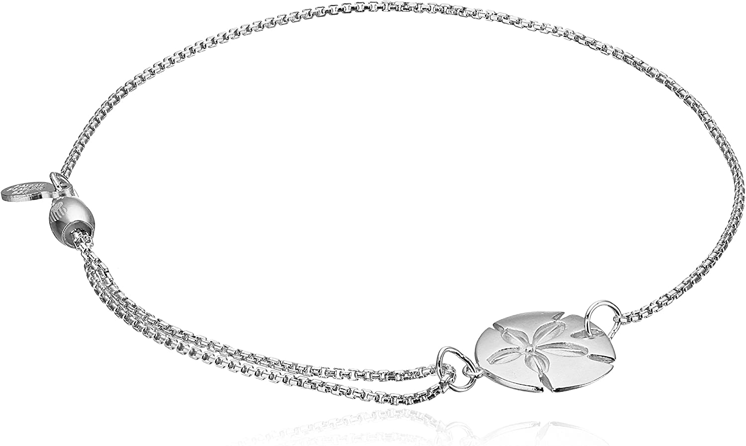 Alex and Ani Pull Chain Bracelet Sand Dollar 14k Bracelet