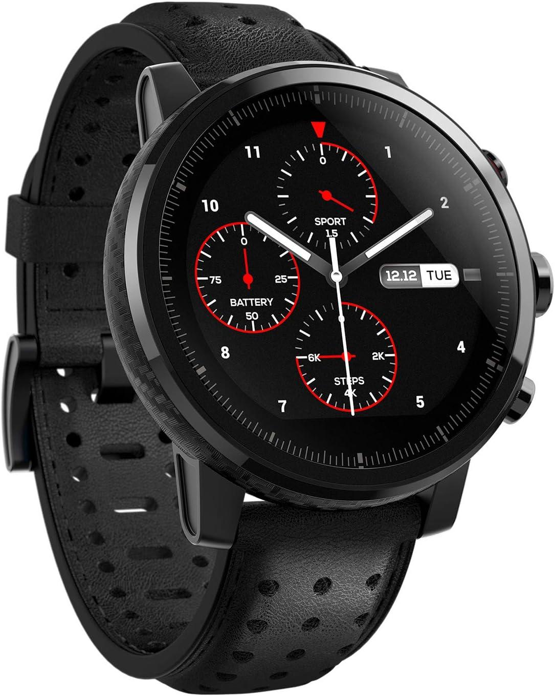 Huami Amazfit Bip Smart Reloj Bip GPS Glonass frecuencia cardíaca 45 días en espera (Negro)