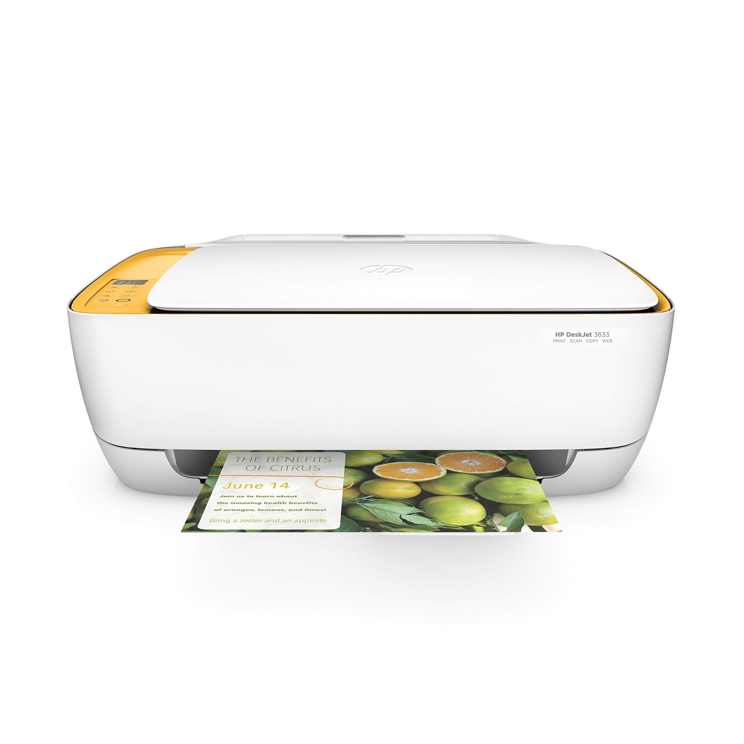 HP DeskJet 3633 Compact All-in-One Wireless Printer with Mobile Printing, Instant Ink ready (K4T95A)