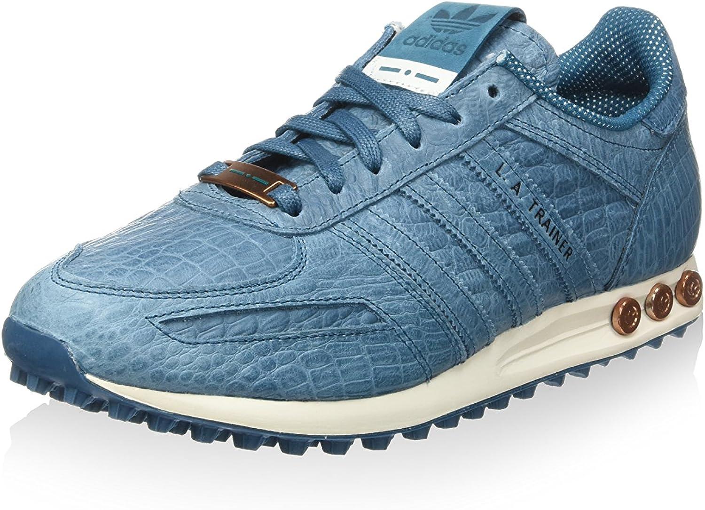 Muñeco de peluche enemigo Pareja  adidas L.A. S78361 Trainers - Blue/White, Size UK 3.5: Amazon.co.uk: Shoes  & Bags
