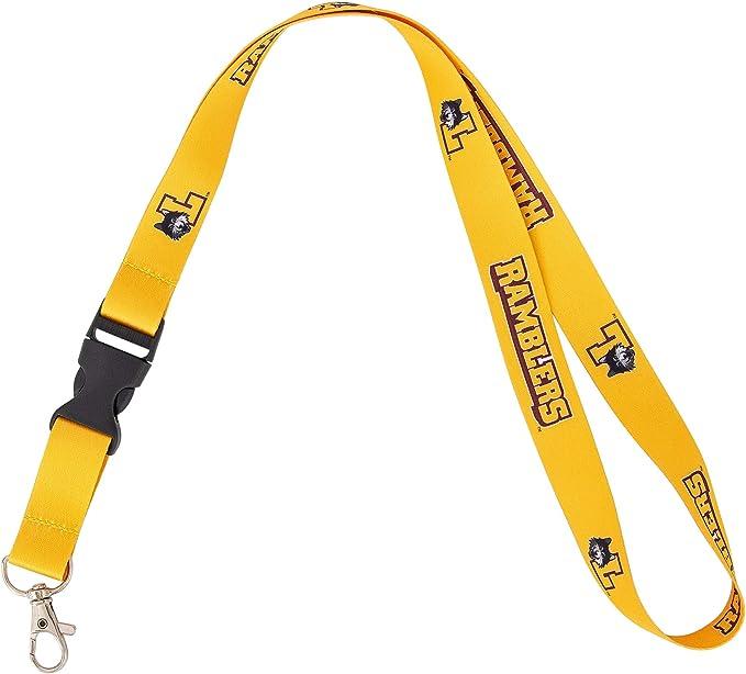 New York University NYU Violets NCAA Car Keys ID Badge Holder Lanyard Keychain Detachable Breakaway Snap Buckle
