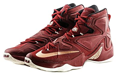 best cheap 821f0 d4400 Image Unavailable. Image not available for. Color  Nike Lebron XIII  Cavaliers 13 Team Red Men Basketball Sneakers New