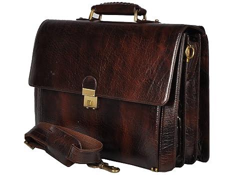 f85126129d20 Bag Jack - Stylish holdall Sceptrum brown color laptop leather bag ...