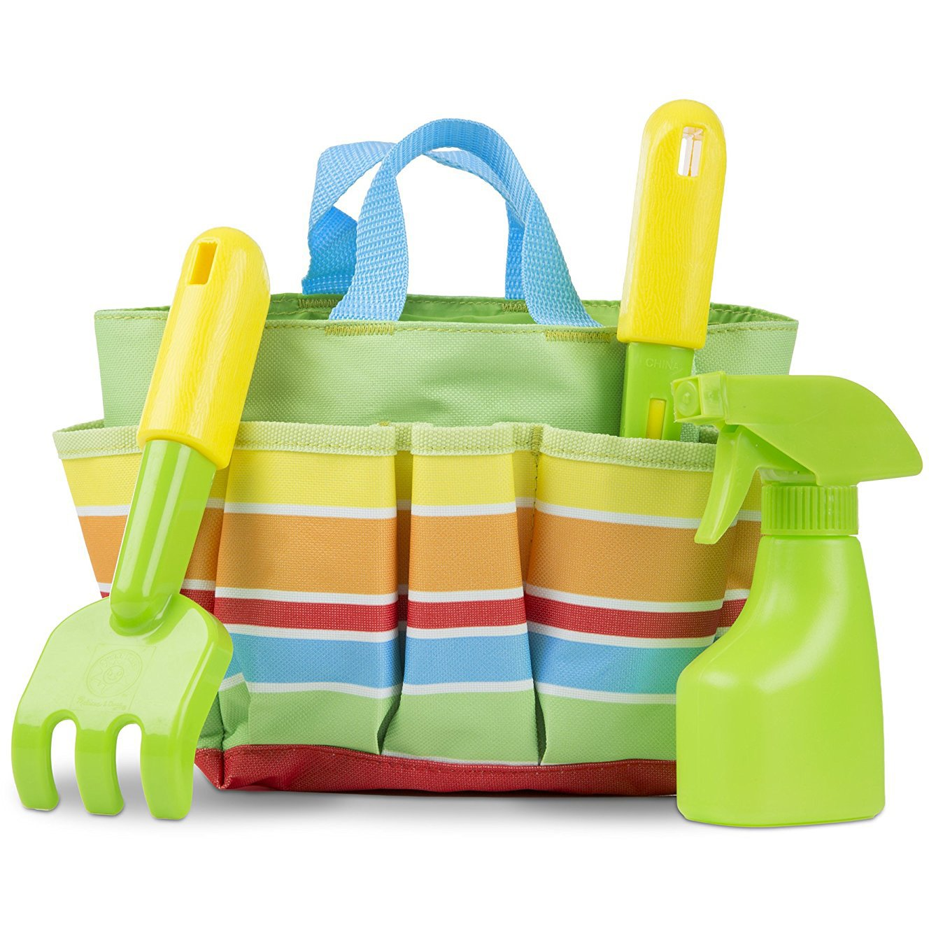 Melissa /& Doug Giddy Buggy Tote Set: Sunny Patch Outdoor Play Series #06741 1 Scratch Art Mini-Pad Bundle BCC9447191