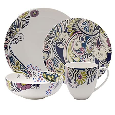 Denby Sixteen Piece u0027Monsoon Cosmicu0027 Dinnerware Set  sc 1 st  Amazon UK & Denby Sixteen Piece u0027Monsoon Cosmicu0027 Dinnerware Set: Amazon.co.uk ...
