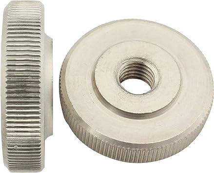 R/ändelmutter flache Form Mutter Gewinde Edelstahl V2A A1 DIN467 M8 x 8 St/ück