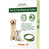 Arava Flea & Tick Prevention Collar - for Dogs & Puppies - Length-22'' - 11 Natural Active Ingredients - Safe for Babies & Pe