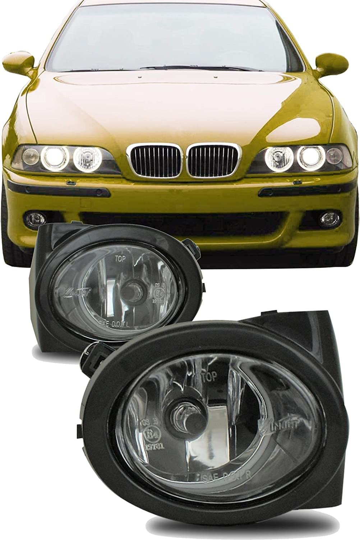 Feux Antibrouillard Avant Phare Antibrouillard Avant Lumineux Lampe Antibrouillard Gauche Droite pour 3 Series E39 E46 M3