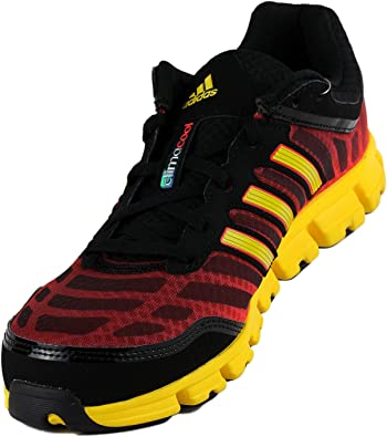 Amazon.com | adidas Men's ClimaCool Aerate 2, Black/Yellow Red, 14 ...