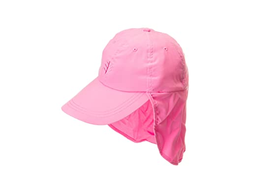 ea5f9a721ed Coolibar Women s All Sport Legionnaire Hat - UPF50+ Sun Protection (Oxford  Pink)