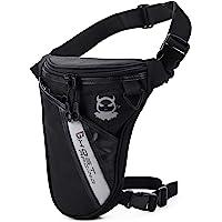 Fansport Leg Bag Outdoor Thigh Bag Motorcycle Bike Bag, Multifunctional Tactical Thigh Packs for Hiking Traveling…