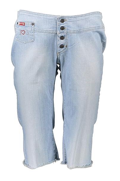 GUESS JEANS W1266-EA8P3 - Pantalones Vaqueros Capri para ...