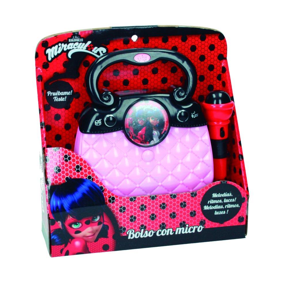 Ladybug Zag Bolso con Micro, Luces, ritmos y conexión MP3 (Claudio Reig 2684.0): Amazon.es: Juguetes y juegos
