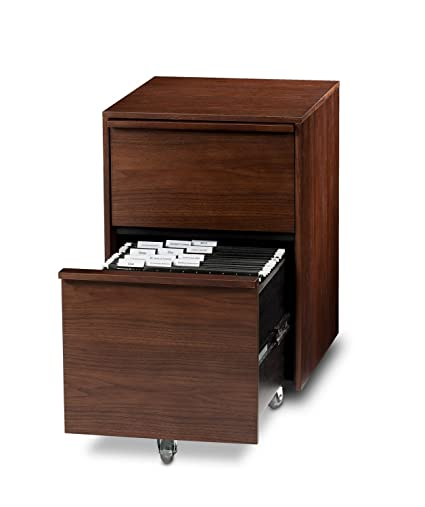 BDI Cascadia Mobile File Cabinet Color: Chocolate Stained Walnut