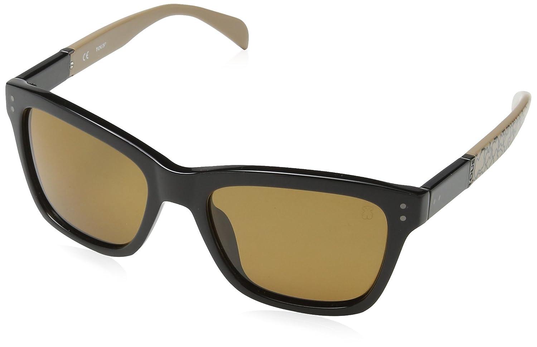 TOUS STO835E53700P Gafas de sol, Shiny Black, 53 para Mujer