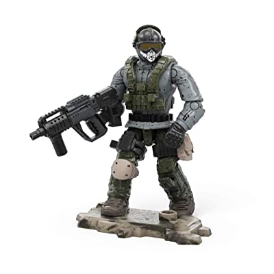 Mega Construx Call of Duty Simon Ghost Riley: Toys & Games