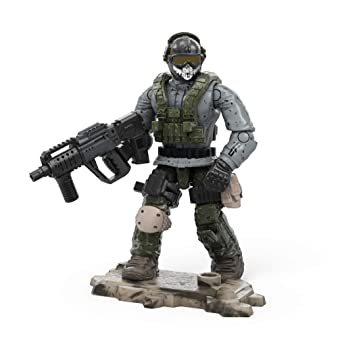 Amazon com: Mega Construx Call of Duty Simon Ghost Riley