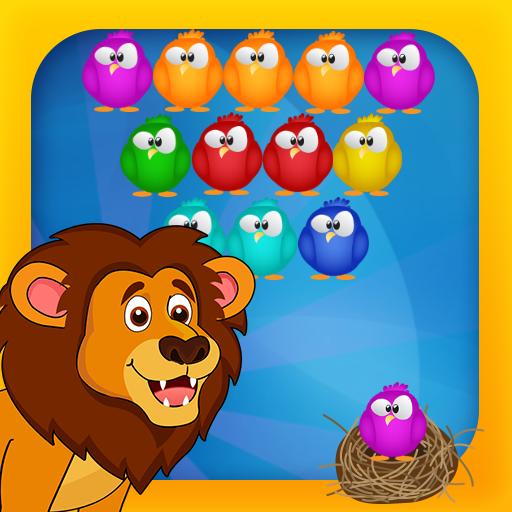 Bubble Bird Shooter - Puzzle Bubble Game Bobble