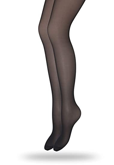 053dd71003e Eedor Women s 1 Pack Silky Non-Control Top Sheer Pantyhose Black(transparent)  at Amazon Women s Clothing store