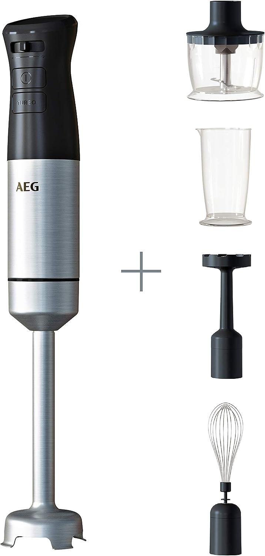 AEG HB5-1-8SS Batidora brazo 800 W, 220-240 V, 82 dB, Negro
