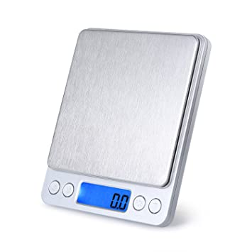 vilong 3000 G 0,1 G electrónico pantalla lcd mini 3 kg Digital joyería peso equilibrio de peso báscula: Amazon.es: Hogar