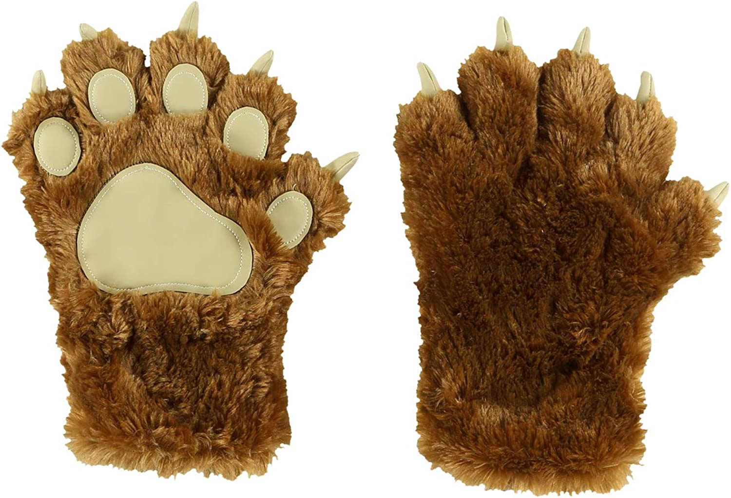 Animal Paw Claw Costume Cosplay Gloves Mitts for Adult Kids by LazyOne