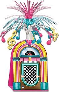 Jukebox Centerpiece Party Accessory (1 count) (1/Pkg)