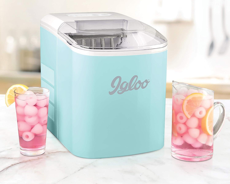 Igloo ICEB26WH 26-Pound Automatic Ice Maker - White EMG East Inc. -Dropship