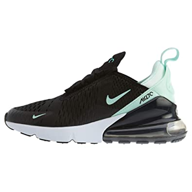 cheap for discount f3648 b7f32 Nike Women's WMNS Air Max 270, Black/Igloo-Hyper Turq-White, 8 US