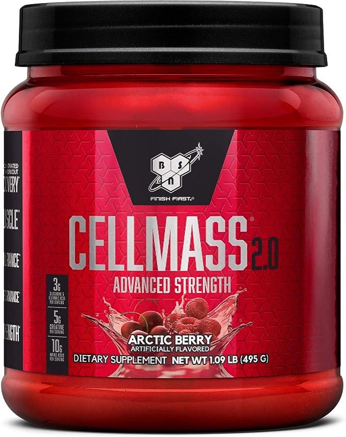 BSN 485g Cell Mass 2.0 Arctic Berry Powder