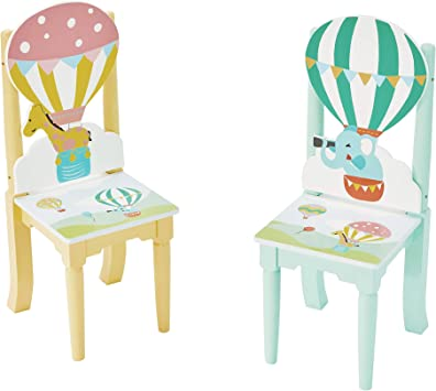 Fantasy Fields 1 x Lot de 2 chaises Enfant, Multicolore
