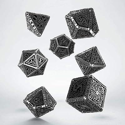 Q-Workshop Metal Svetovid Dice Set: Toys & Games