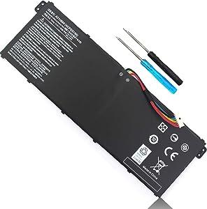 AC14B8K Laptop Battery for Acer Aspire CB3-111 CB3-531 CB5-571 R5-471T R5-571T R5-571TG R7-371T N15W5 CB5-571 CB3-531 Swift 3 SF314-51 SF314-52 Nitro 5 AN515-51/52/53 Aspire 5 A515-51 4ICP5/57/80