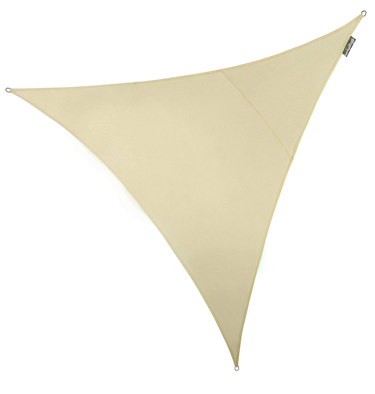 Tenda a vela Kookaburra impermeabile di colore avorio 3.0m Quadrata