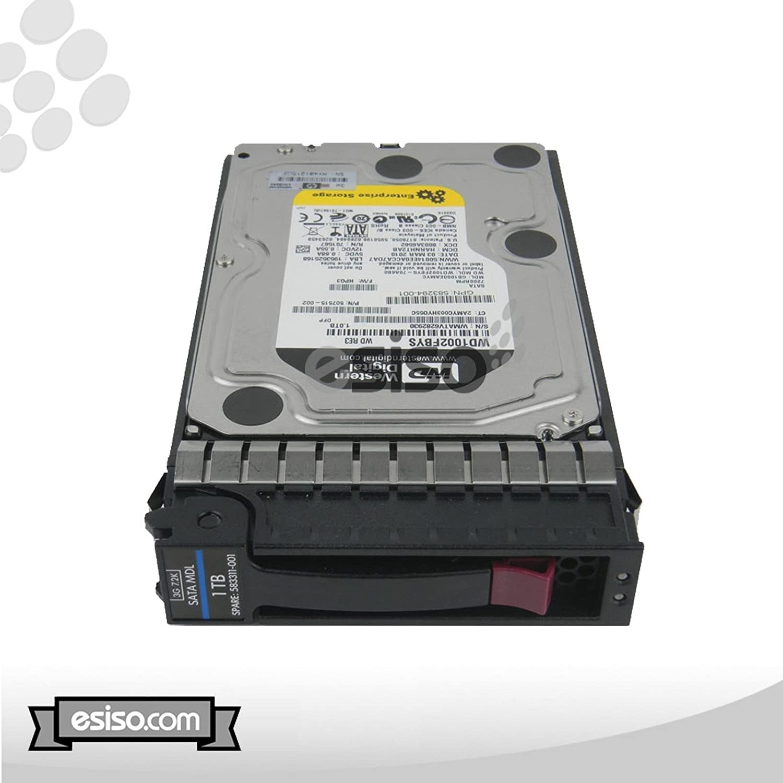 "HP 507631-002 454273-001 454146-B21 1TB 3G SATA 7200 RPM 3.5"" Hard Drive"