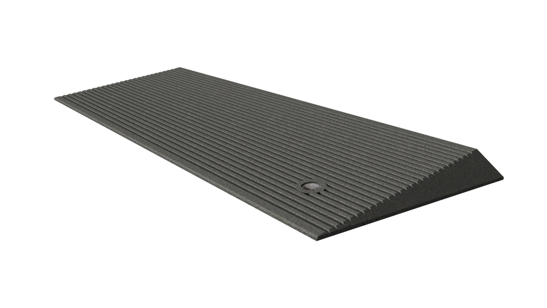 EZ-ACCESS Transitions Angled Entry Mat, Storm Grey, 15 Pound