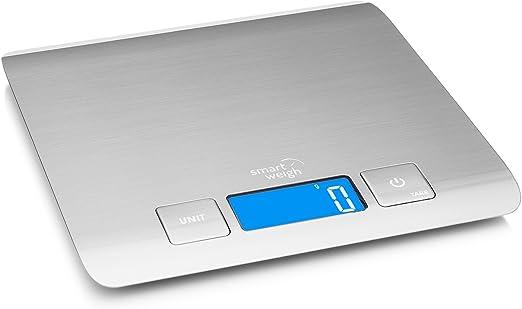 Smart Weigh 11 lb/15 kg Báscula Electrónica Multifuncional para ...