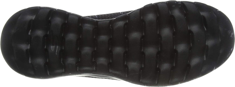 Skechers Womens 15600 Go Walk Joy Fabric Low Top Slip On Walking Shoes Nero Black