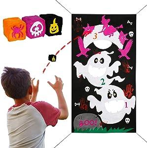 Win A Free Joy&Leo Halloween Ghost Bean Bag Toss Game Sets