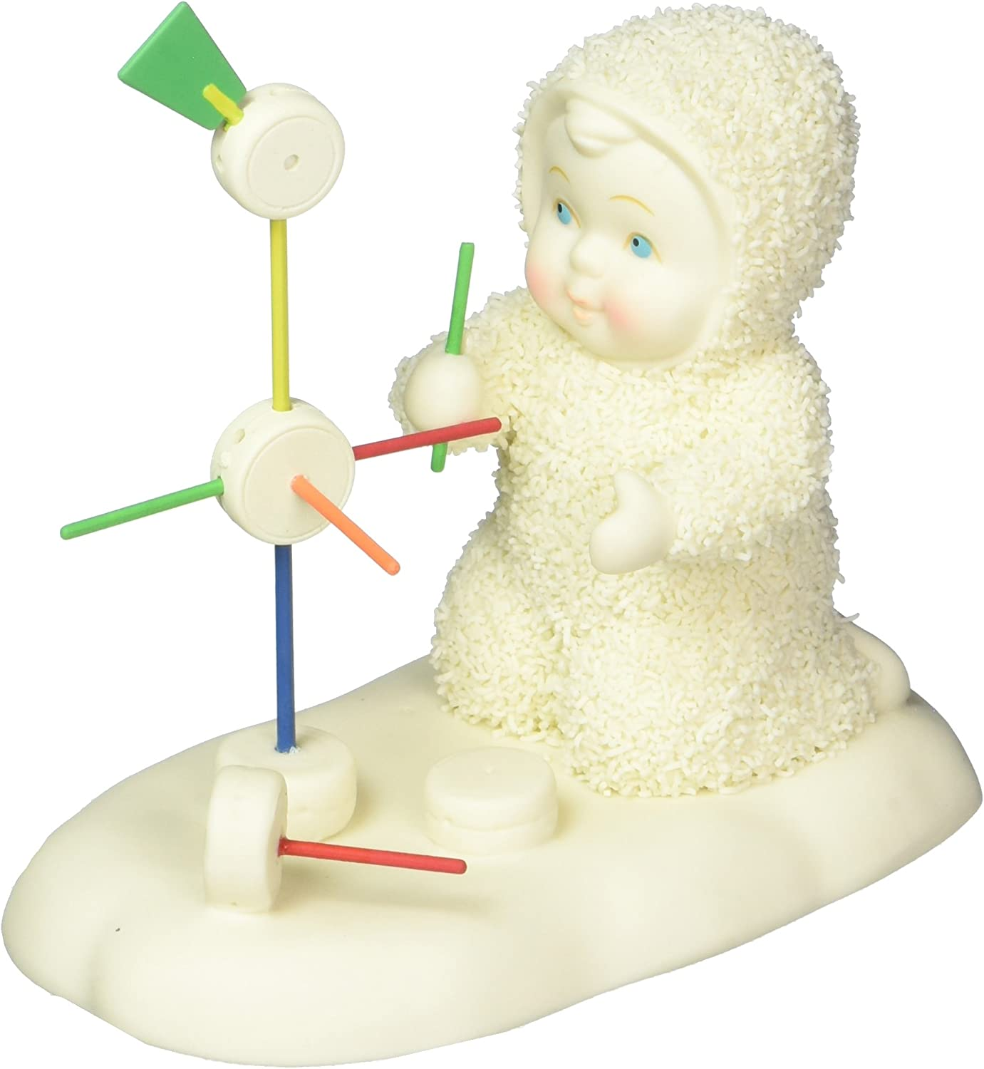 """Department 56 Snowbabies Guest Collection Tinkerbell Tinkering Away Figurine, 3.54"""""""